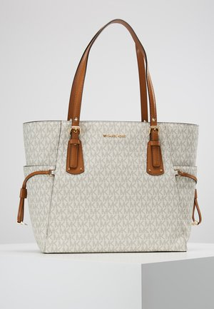 VOYAGER SIGNATURE TOTE - Handbag - vanilla
