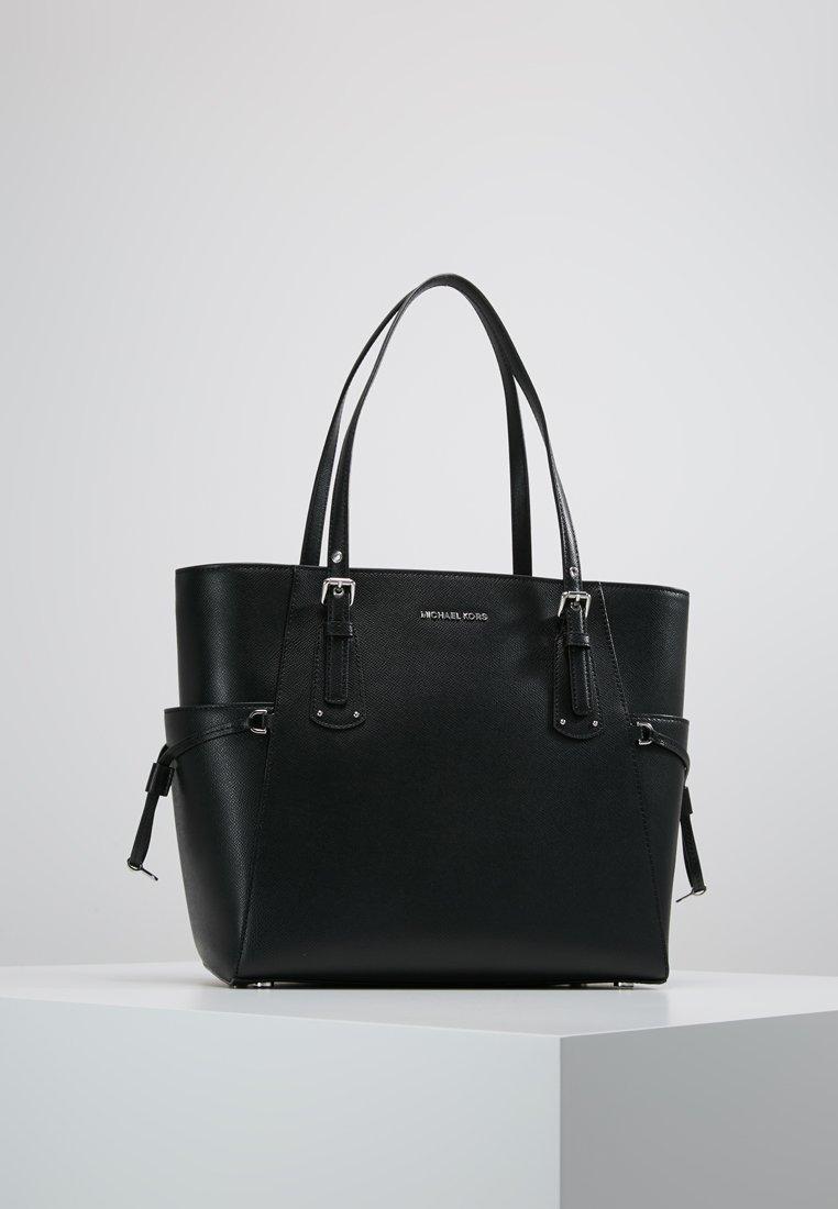 MICHAEL Michael Kors - VOYAGER SIGNATURE TOTE - Handbag - black