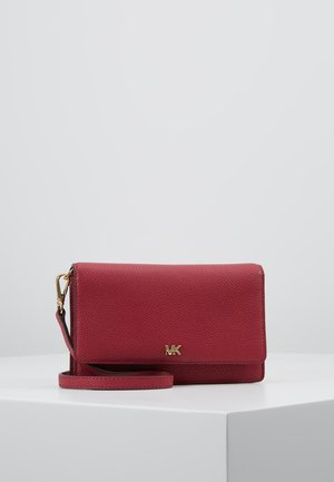 PHONE CROSSBODY - Portefeuille - berry