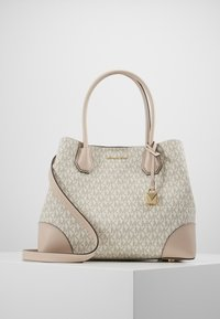 MICHAEL Michael Kors - MERCER CENTER ZIP TOTE - Kabelka - off-white - 0