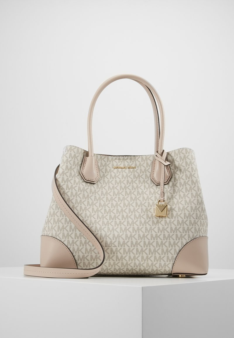 MICHAEL Michael Kors - MERCER CENTER ZIP TOTE - Sac à main - off-white