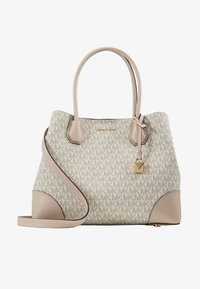 MICHAEL Michael Kors - MERCER CENTER ZIP TOTE - Kabelka - off-white - 4