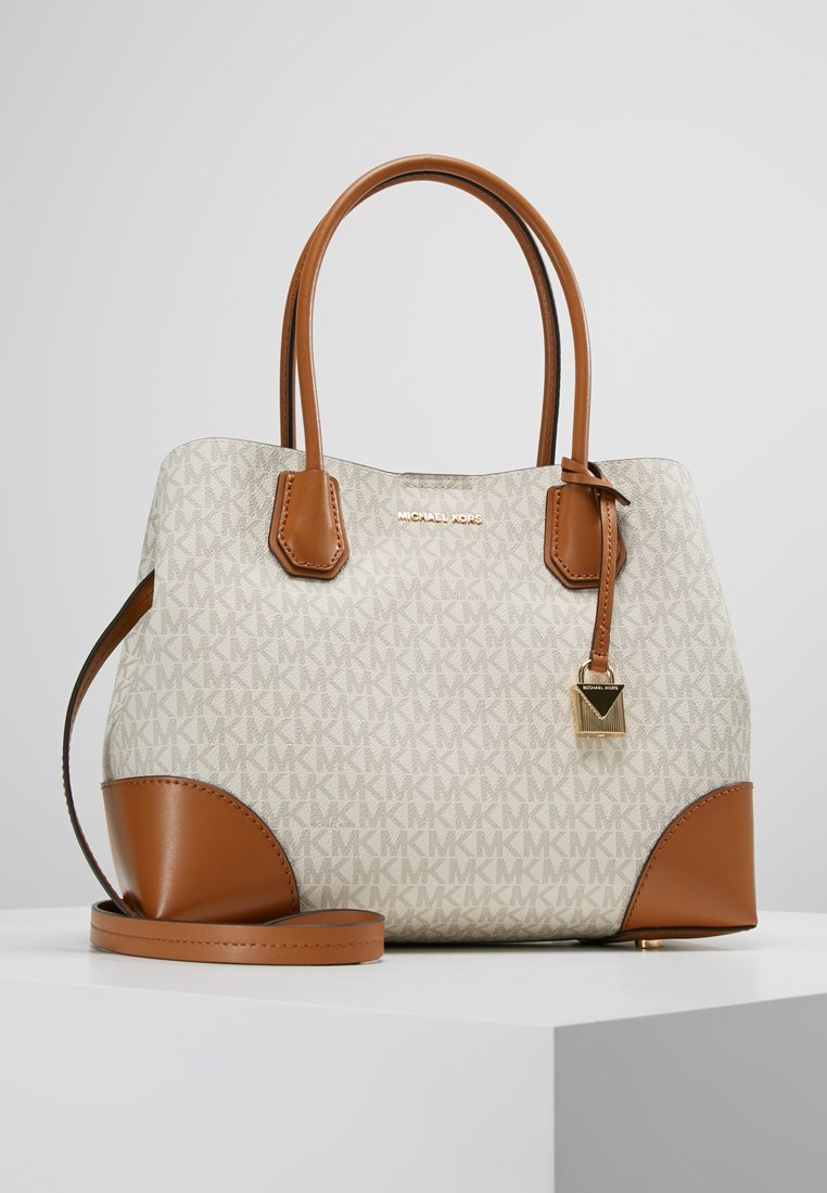 MICHAEL Michael Kors - MERCER GALLERY CENTER ZIP TOTE - Bolso de mano - beige