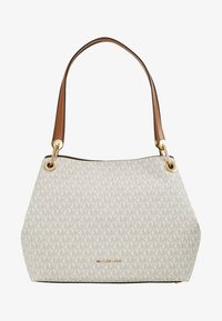 MICHAEL Michael Kors - RAVEN SHOULDER BAG - Handbag - vanilla - 5