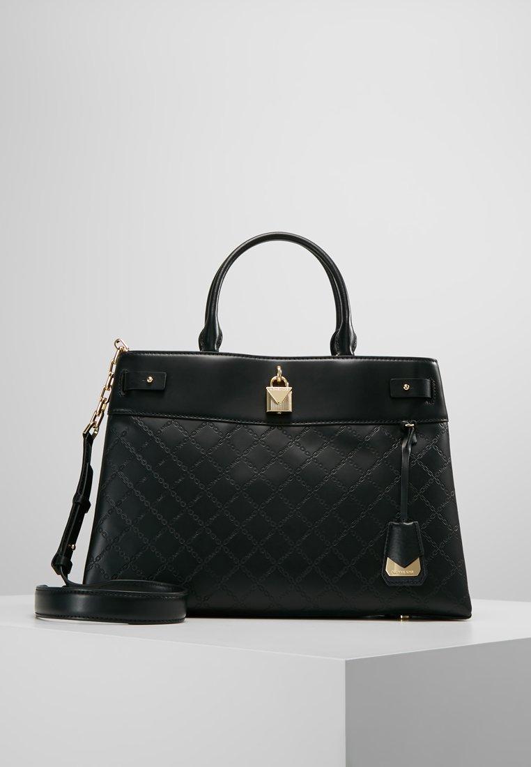 MICHAEL Michael Kors - GRAMERCY SATCHEL - Handbag - black