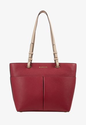 BEDFORD POCKET TOTE - Handtas - berry