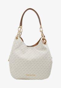 MICHAEL Michael Kors - LILLIE CHAIN TOTE  - Shopping Bag - vanilla/acrn - 5