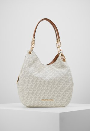 LILLIE CHAIN TOTE  - Tote bag - vanilla/acrn