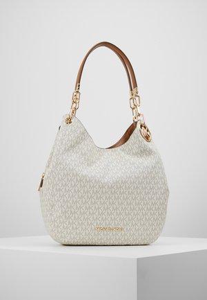 LILLIE CHAIN TOTE  - Bolso shopping - vanilla/acrn