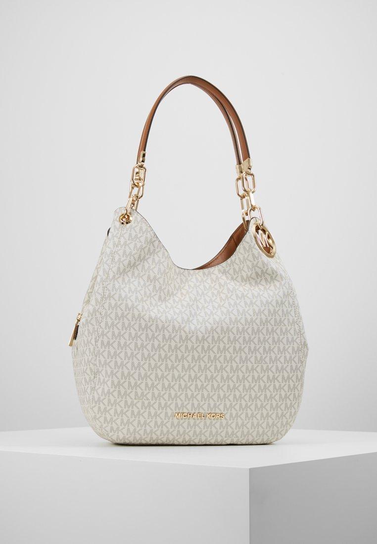 MICHAEL Michael Kors - LILLIE CHAIN TOTE  - Shopping bag - vanilla/acrn