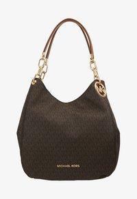 MICHAEL Michael Kors - LILLIE CHAIN TOTE  - Shopping bags - acorn - 5