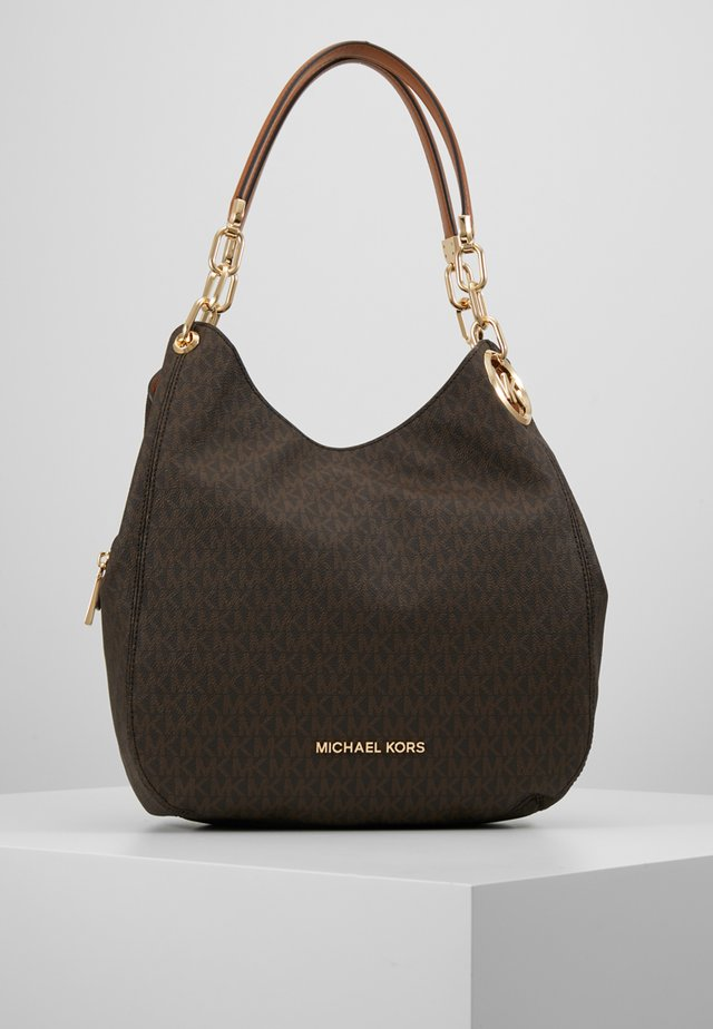 LILLIE CHAIN TOTE  - Bolso shopping - acorn