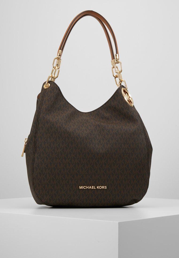 MICHAEL Michael Kors - LILLIE CHAIN TOTE  - Shoppingväska - acorn
