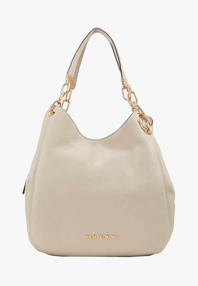 LILLIE CHAIN TOTE SMALL - Kabelka - light sand
