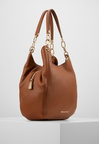 MICHAEL Michael Kors - LILLIE CHAIN TOTE SMALL - Handbag - cognac - 3