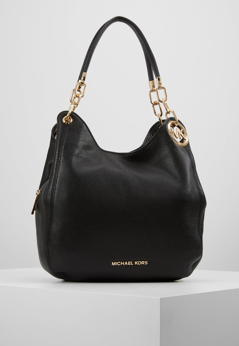 MICHAEL Michael Kors - LILLIE CHAIN TOTE SMALL - Torebka - black