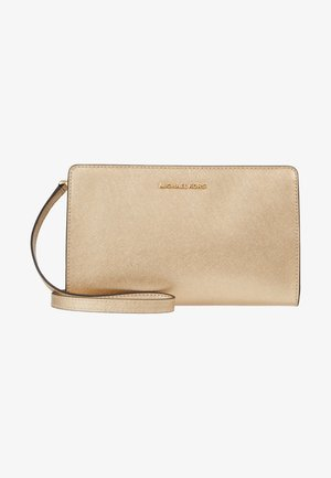 JET SET TRAVEL CROSSBODY - Bandolera - pale gold