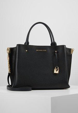 ARIELLE SATCHEL - Bolso de mano - black