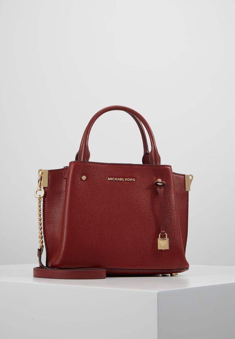 MICHAEL Michael Kors - ARIELLE SATCHEL MERCER PEBBLE - Handbag - brandy