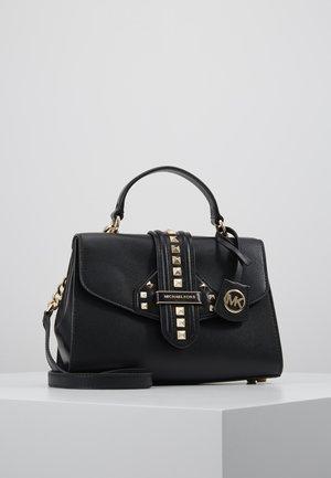 BLEECKER SATCHEL CROSSGRAIN - Handbag - black