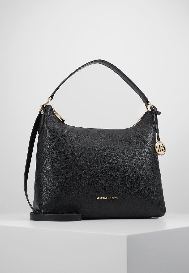 MICHAEL Michael Kors - ARIA PEBBLE  - Handbag - black
