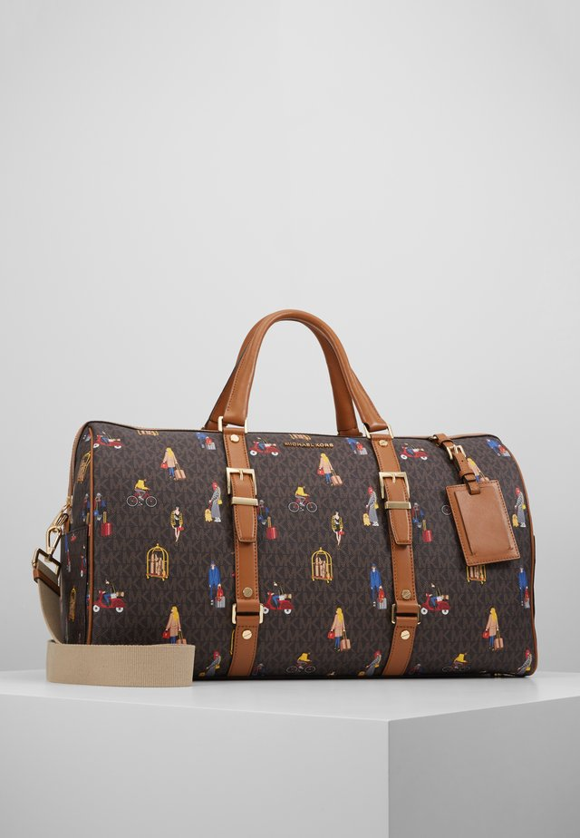 BEDFORD  XL TRAVEL GIRLS - Weekendbag - brown/multi
