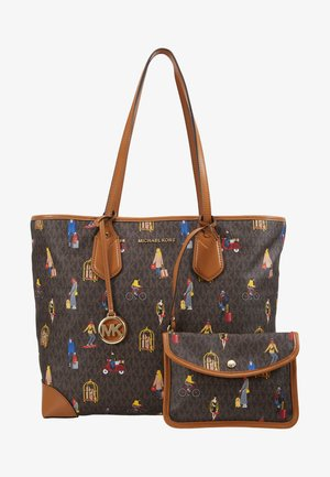 EVA TOTE TRAVEL GIRLS - Sac à main - brown/multi