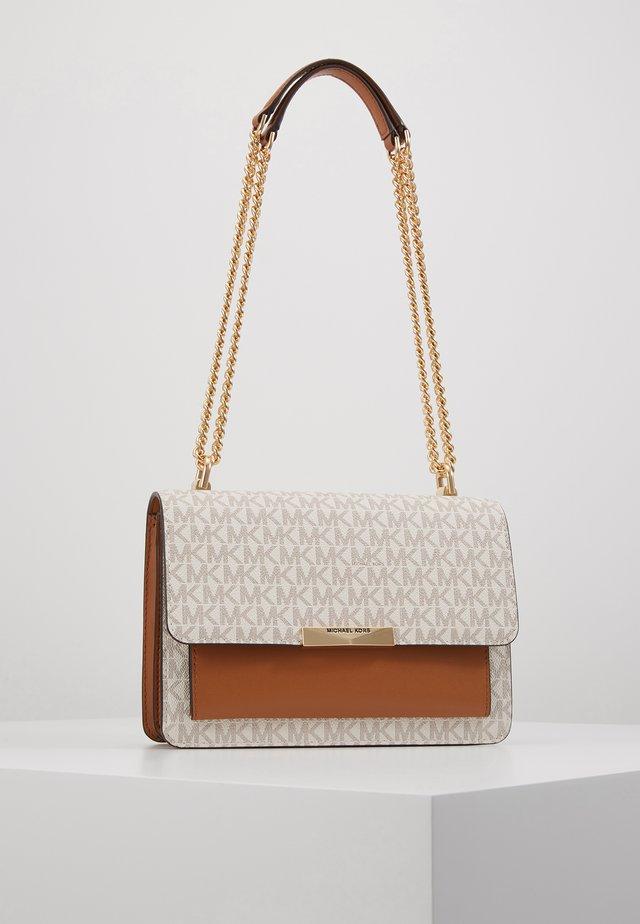 JADELG GUSSET - Across body bag - brown