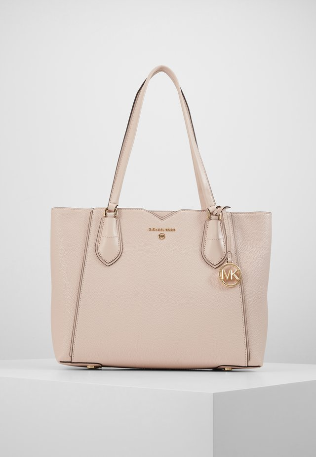 MAE TOTE MERCER PEBBLE - Handbag - soft pink