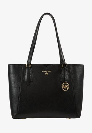 MAE TOTE MERCER PEBBLE - Handbag - black