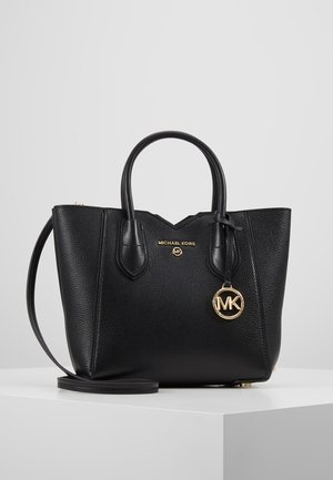 MAE MERCER PEBBLE - Handtas - black