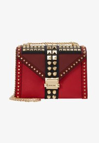 MICHAEL Michael Kors - TRICOLOR MIXED STUDS WHITNEY - Olkalaukku - red/multi - 5
