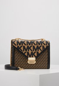 MICHAEL Michael Kors - MIXED SCALE PRINTED WHITNEY  - Handtasche - brown / black - 0