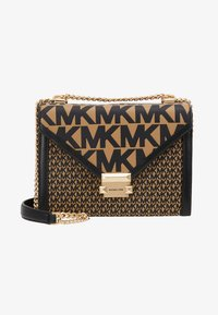 MICHAEL Michael Kors - MIXED SCALE PRINTED WHITNEY  - Handtasche - brown / black - 5
