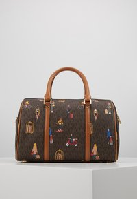 MICHAEL Michael Kors - BEDFORD TRAVEL DUFFLE SATCHEL JET SET GIRLS - Bolso de mano - brown/multi - 3