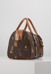 MICHAEL Michael Kors - BEDFORD TRAVEL DUFFLE SATCHEL JET SET GIRLS - Bolso de mano - brown/multi - 4