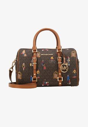 BEDFORD TRAVEL DUFFLE SATCHEL JET SET GIRLS - Handtasche - brown/multi