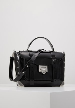 MANHATTAN SCHOOL SATCHEL - Handtas - black
