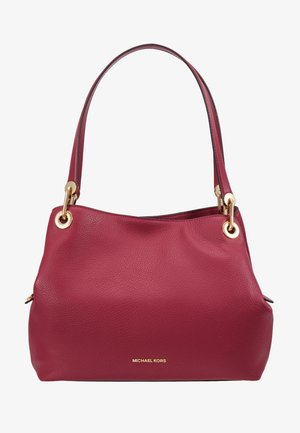 RAVEN TOTE SMAL PEBBLE  - Handbag - berry