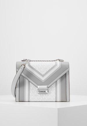 WHITNEY - Across body bag - bright white
