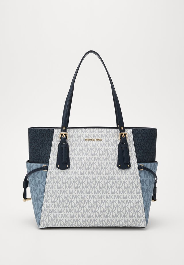 VOYAGEREW TOTE - Tote bag - navy multi