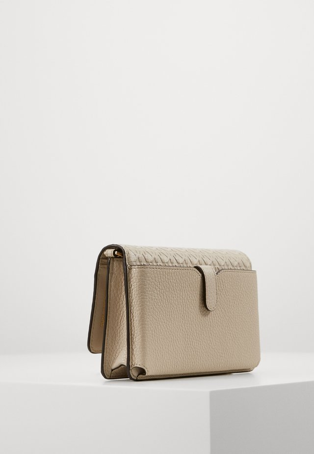 MOTTPHONE CROSSBODY - Plånbok - light sand