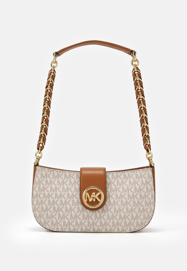 CARMEN POUCHETTE - Håndtasker - vanilla/acorn