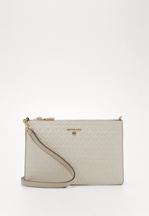 JET SET CHARM POUCH XBODY - Sac bandoulière - light cream