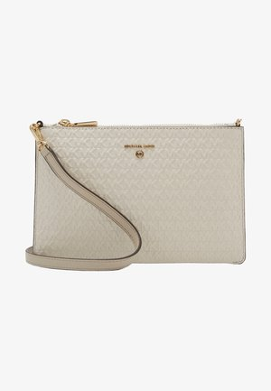 JET SET CHARM POUCH XBODY - Across body bag - light cream