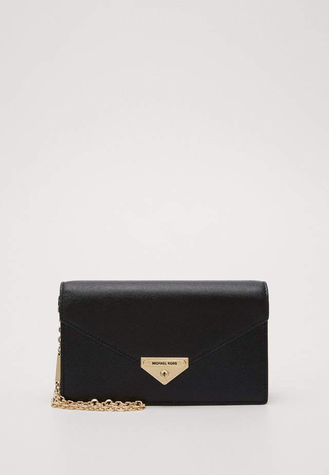 GRACEMD ENVELOPE CLUTCH - Pikkulaukku - black