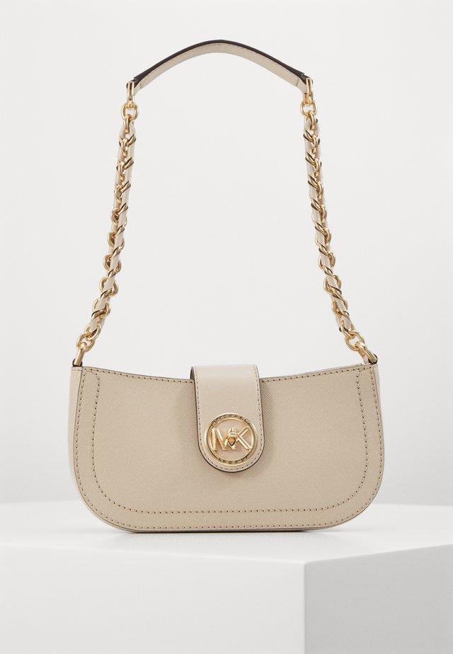 CARMEN POUCHETTE - Handbag - light sand