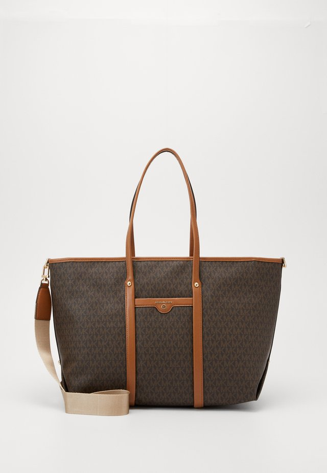 SOFT UNLINED - Bolso shopping - acorn