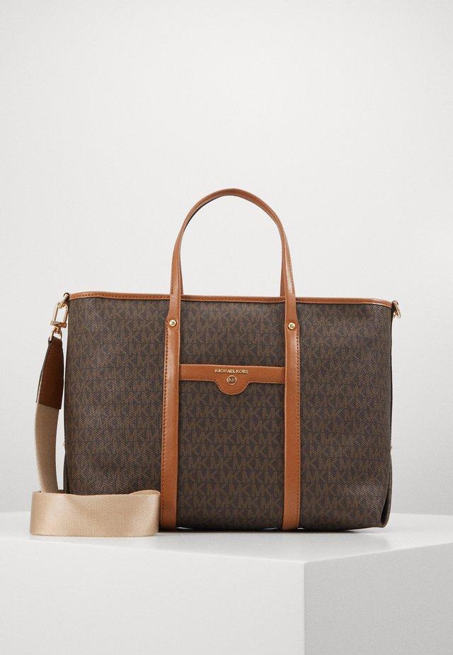 TOTEM SOFT UNLINED - Shoppingveske - brown