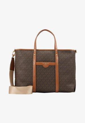 TOTEM SOFT UNLINED - Shoppingväska - brown